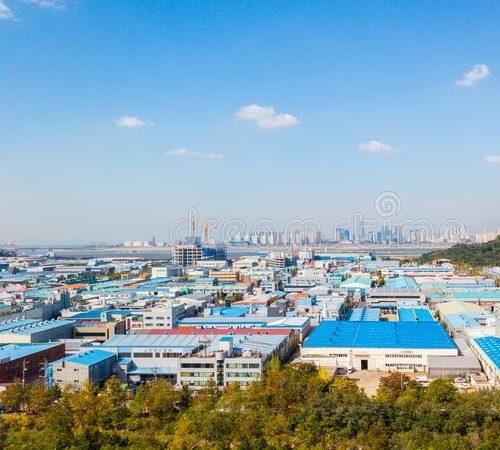 aerial-view-sunset-industrial-park-incheon-seoul-korea-107012769